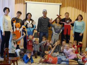 Встреча с молодыми семьями