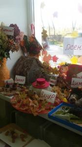 Детский сад проводит выставки поделок